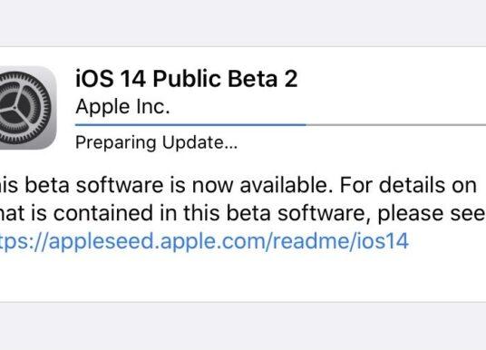 Apple wypuszcza pierwszą publiczną wersję beta iOS 14