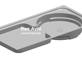 Projekt wkładki pudełka do iPhone'a 12 sugeruje brak miejsca dla słuchawek i zasilacza