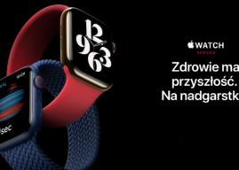 Apple Watch Series 6 z monitorowaniem stężenia tlenu we krwi i nowymi opcjami kolorystycznymi oficjalnie zaprezentowany
