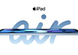 Apple przedstawia 10,9-calowego iPada Air z chipem A14, konstrukcją obejmującą cały ekran, Touch ID w przycisku zasilania i USB-C