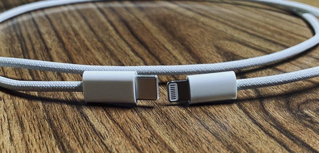 pleciony kabel Apple