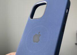 Apple ostrzega, że ładowarka MagSafe może zostawiać okrągłe ślady na skórzanych etui