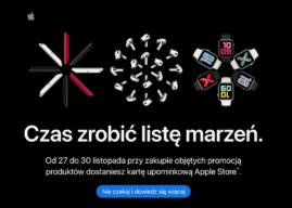 Apple zapowiada zakupowy weekend związany z Black Friday