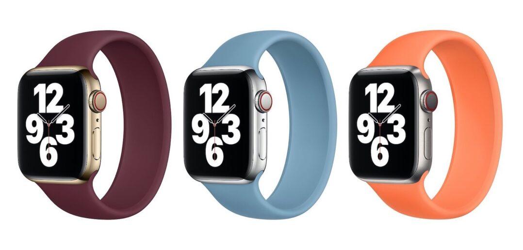 nowe kolory opasek Solo Apple Watch