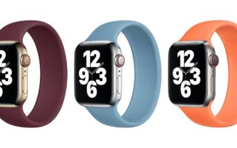 nowe kolory opasek Solo Apple Watch
