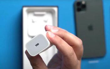iPhone-12-bez ładowarki w pudełku
