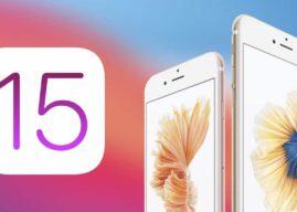 iOS 15 może nie działać już na iPhonie 6S i iPhonie SE z 2016 roku