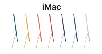iMac M1 jest do 56% szybszy niż topowy 21,5-calowy iMac poprzedniej generacji