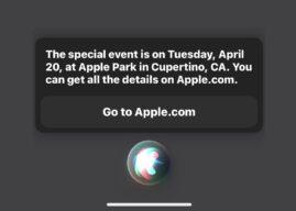 Siri zdradza termin wiosennej konferencji Apple