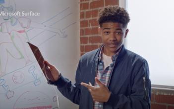 reklama Surface Pro 7