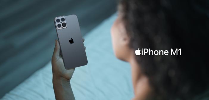 Wyjątkowa koncepcja iPhone'a M1