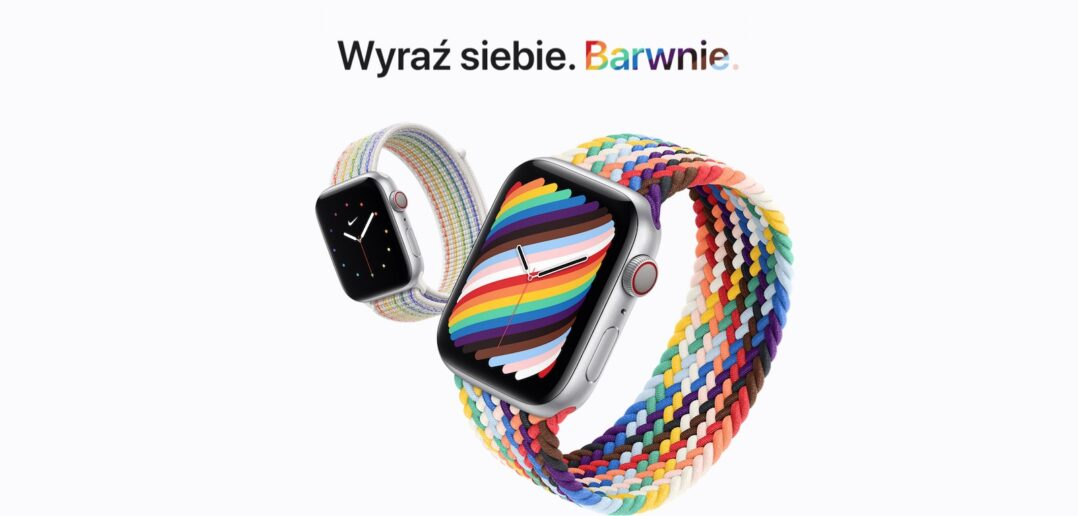 paski Apple Watch Pride Edition