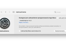 Apple udostępnia macOS Big Sur 11.5.1