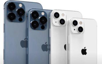 wizualizacja nowych iPhone 13