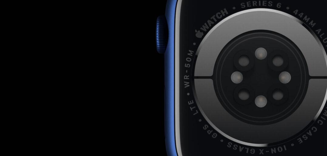 czujnik nawodnienia Apple Watch
