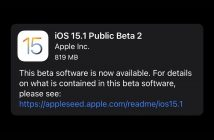 iOS 15.1 beta2