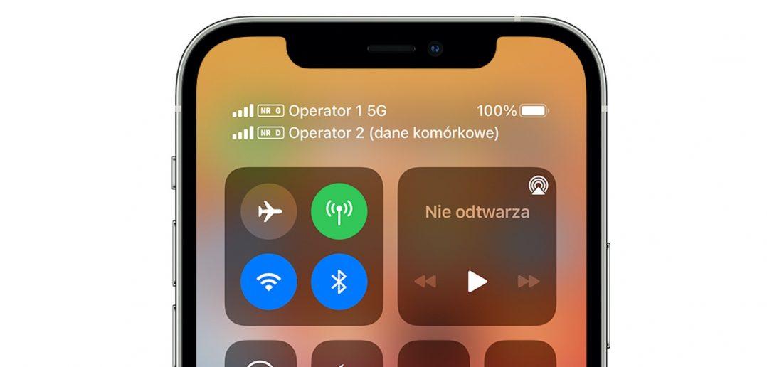 podwojny eSIM iPhone 13