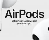 Apple prezentuje trzecią generację słuchawek AirPods